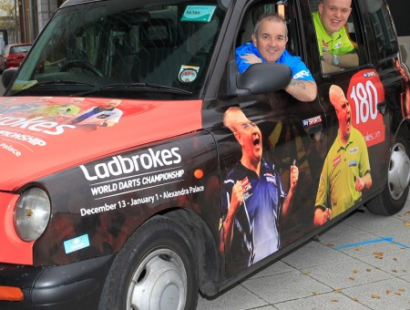 PDC Taxi Wrap